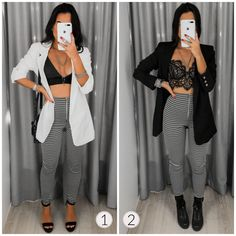 Uni Outfits, Cute Casual Outfits, Winter Fashion Outfits, Love Fashion, Fashion Looks, Womens Fashion, Casual Night Out, Looks Chic, Ideias Fashion