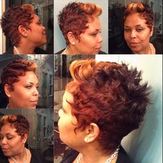 Fall is in the hair #pixie #pixiecutie #colorpopping #dfwhair #thecutlife #khimandi #style #modernsalon #shortcuts #healthyhair #hair #tonedope #falldoll #nothingbutpixies #pixie #beauty