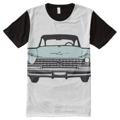 Shop Vintage Car All-Over-Print T-Shirt created by PawsitiveDesigns. Personalize it with photos & text or purchase as is! Printed Shirts, Shirt Style, Your Style, Cars, Unique, Mens Tops, T Shirt, Vintage, Collection
