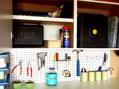 IHeart Organizing: May Featured Space: Outdoors - Organizing Tools