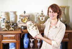 How to Properly Care For and Store Your Beautiful Antiques When Moving - http://blog.storageseeker.com/main/how-to-make-the-most-of-antique-storage