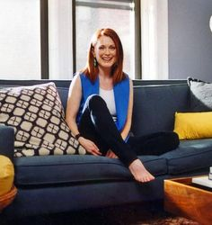 Domino Magazine, Julianne Moore