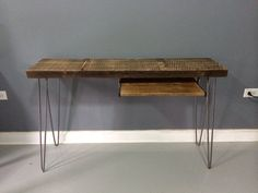 Wooden Console Table Wooden Side Table Wooden Entry Table - Free Shipping - Lifetime Warranty on Etsy, $160.00