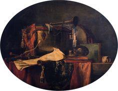 The Attributes of Military Music, Jean-Baptiste-Simeon Chardin, 1767. The Athenaeum