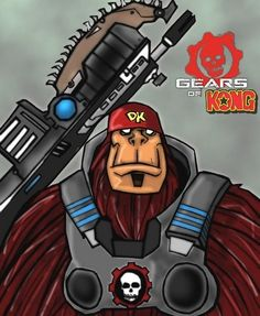 Donkey Kong Mashes-Up with Gears of War