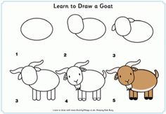 Learn to Draw a Goat