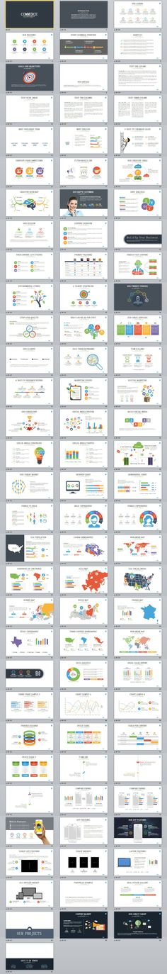 91+ commerce infographic PowerPoint template #powerpoint #templates #presentation #animation #backgrounds #pptwork.com #annual #report #business #company #design #creative #slide #infographic #chart #themes #ppt #pptx #slideshow