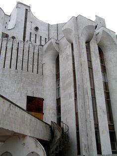 Novgorod Veliky's theatre / Russia  #socialist #brutalism #architecture
