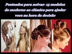Dicas da Cema: Penteados para noivas- 15 modelos do moderno ao cl...