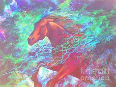 """""""Breaking Through"""" Art by Karen Chatham"""