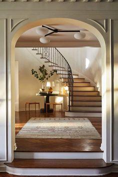 Architectural Digest, Design Entrée, Inspiration Design, Custom Canopy, Up House, Park Homes, Home And Deco, Interiores Design, Building A House