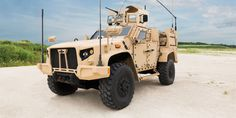 The stronger, faster, and much safer JLTV - the replacement for the popular but vulnerable Humvee is finally here.