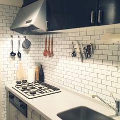 10日間でキッチンをセルフリノベ!大好きキッチンに変身させる技集 | RoomClip mag | 暮らしとインテリアのwebマガジン