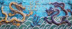 nine-dragon screen by longyin   Stocksy United