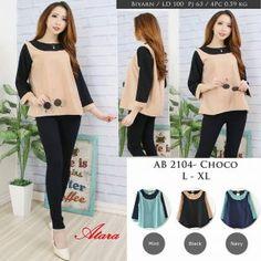 baju wanita modis AB2104 - Grosir Baju Muslim Termurah 18806f5aba