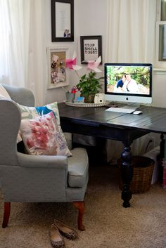 Multifunctional Office and Playroom - Domestic Fashionista | Home, Decor, DIY, Fashion