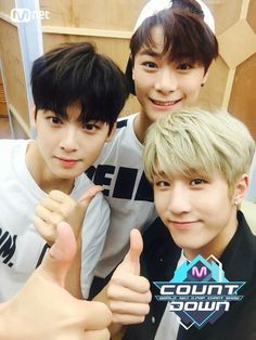 Eunwoo,Moonbin, and Jinjin #astro