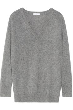 There's nothing like cashmere to snuggle up in and this Equipment sweater is the perfect balance of soft and oversized