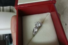 have you seen the ring 123ct center round diamond engagement ring used engagement rings sell engagement rings pre owned engagement rings dis - Used Wedding Rings