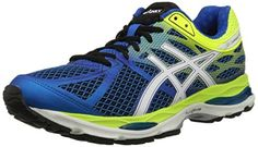ASICS Men's GEL Cumulus 17 Running Shoe #shoes http://www.theshoespack.com/asics-mens-gel-cumulus-17-running-shoe/  ASICS Men's GEL Cumulus 17 Running Shoe The award-winning GEL-Cumulus® series gets a modern makeover, with the seventeenth version sporting a new FluidRide® midsole and ample Rearfoot and Forefoot GEL® Cushioning units.  When combined with improved midsole geometry and sleek new Seamless Construction, underpronators to mild overpronators will enjoy the smooth ride and ..