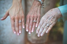 3 generation wedding ring portrait idea. cutest thing ever....i hope i still have grandparents when i get married!