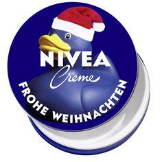 NIVEA Fotodose Weihnachtsente #nivea #dose