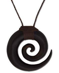 SoulFlower-Koa Spiral Necklace-$20.00  #soulflowercontest #letlifeflow