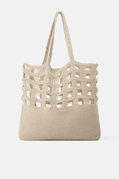 Best 12 Crochet Market Tote Bag Free Pattern Ideas With You 2019 – Page 36 of 39 – apronbasket . Crochet Market Bag, Crochet Tote, Crochet Purses, Knit Crochet, Net Bag, Knitted Bags, Handmade Bags, Crochet Projects, Purses And Bags