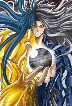 Saint Seiya - The Lost Canvas - Gemini Deuteros/Aspros