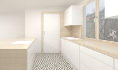 Kitchen Srubec, Design and visual: InLAB + Ochozka Truhlářství & Interiéry