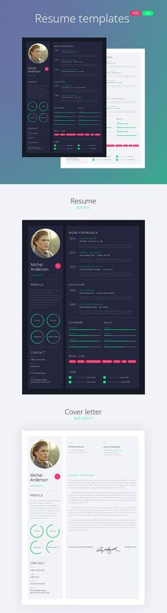 24 best Cv Web images on Pinterest in 2018 Page layout, Graph - m w resume