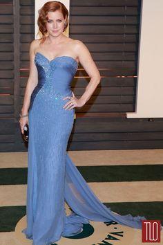 Amy Adams in Atelier Versace at the Vanity Fair Oscar Party
