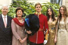 Miss Honoria Glossop:  Princess Margaretha of Liechtenstein, née Luxembourg,her husband Prince Nikolaus of Liechtenstein and their childrenPrincess Maria-Anunciata,Princess Marie-Astrid andPrince Josef-Emanuel.