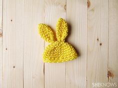 Crochet Easter egg hats: Bunny Ears