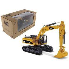 "CAT Caterpillar 340D L Hydraulic Excavator with Operator ""Core Classics Series"" 1/50 Diecast Model Dump Trucks, Toy Trucks, Rc Construction Equipment, Caterpillar Excavators, Hydraulic Excavator, Masters, Machine Photo, Datsun 240z, Model Train Layouts"