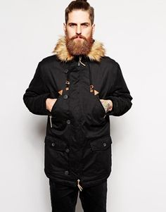 Search for mens coat black at ASOS. Shop from over styles, including mens coat black. Discover the latest women's and men's fashion online Parka, Vintage Soft, Saved Items, Mannequin, Faux Fur, Winter Jackets, Asos Uk, Fabric, Fashion Online