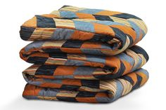 Patchwork technique padded throw | Handwoven striped 'lurk' fabric | Lawe | A New Way To Explore The Best Of Indonesia | Maison & Objet trade fair | September 5-9, 2014 | Hall 1 Ethnic Chic A 88/ B 87 |