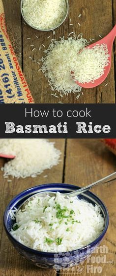 Cooking basmati rice at home is an essential skill everyone should know. Cook perfect and nutritious basmati rice at home consistently with this simple to follow guide! #basmati #rice #cookingskills