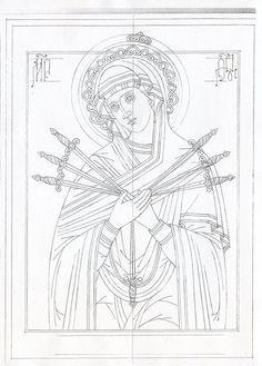 Byzantine Icons, Byzantine Art, Catholic Art, Religious Art, Russian Icons, Alphonse Mucha, Orthodox Icons, Sacred Art, Portrait Art
