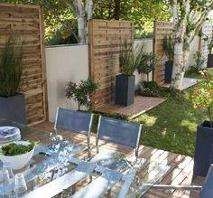 une terrasse total look bois