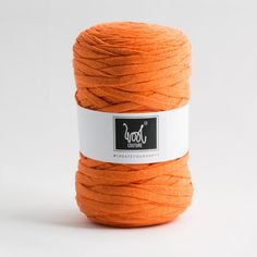 Wool Couture Company -Cotton_Yarn_orange Fabric Yarn, Wool Yarn, Cycling T Shirts, Etsy Store, Knitwear, Upcycle, Tape, Winter Hats, Couture