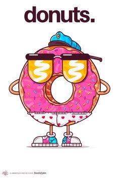 on behance graffiti room, pop art wallpaper, cartoon design, cartoon art Graffiti Room, Graffiti Doodles, Graffiti Cartoons, Graffiti Characters, Pop Art Wallpaper, Graffiti Wallpaper, Cartoon Design, Cartoon Art, Donut Cartoon