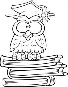 drawings of owls Owl Coloring Pages, Coloring Books, Fall Classroom Decorations, Owl Pictures, Chalk Art, Digital Stamps, Fabric Painting, Rock Art, Doodle Art