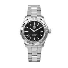 TAG Heuer Men's WAP1110.BA0831 Aquaracer Black Dial Watch from TAG Heuer @ TAG-Heuer-Watches .com
