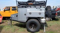 Rugged Camping Trailers