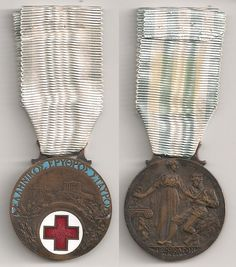 GREECE - Rare Red Cross Medal 1912-13