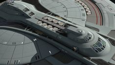 Large gallery of a WIP of a late 24th century federation ship. Idea was that this was an extension of faster than warp technologies such as slipstream or transwarp conduits. The thought process was…