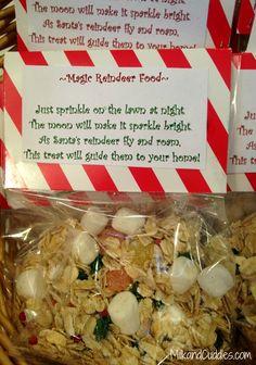 Super cute and easy Reindeer food and printable poem! via @Shannon .