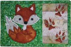 Fox Mug Rug Pattern by Amelie Scott | Quilting Pattern - Looking for your next project? You're going to love Fox Mug Rug Pattern by designer Amelie Scott. - via @Craftsy
