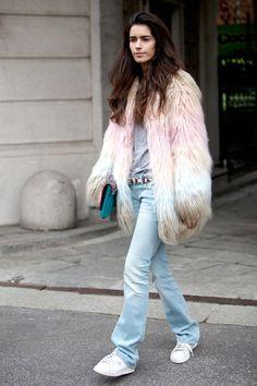 Street Style: Milan Fashion Week  - ELLE.com